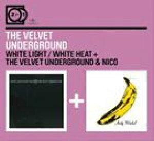 輸入盤 VELVET UNDERGROUND / 2 FOR 1 : WHITE LIGHT/WHITE HEAT+THE VELVET UNDERGROUND & NICO [2CD]