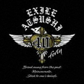 [送料無料] ATSUSHI / 40 〜forty〜 (初回仕様) [CD]