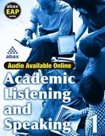 Academic Listening & Speaking 1 LMS
