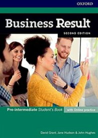 Business Result 2/E Pre-Intermediate Students Book with Online Practice Pack