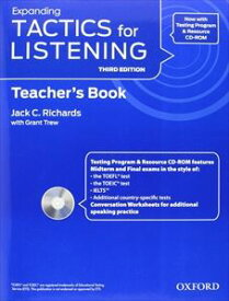 Tactics for Listening 3rd Edition Expanding Teacher's Resource Pack