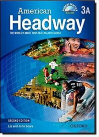 American Headway 2nd Edition Level 3 Split Student Book A with Multi-ROM