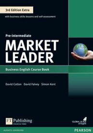 Market Leader 3rd Edition Extra Pre-Intermediate Coursebook with DVD-ROM