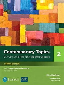 Contemporary Topics 4/E: Level 2 Student Book w/Essential Online Resource
