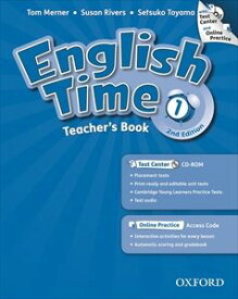 English Time 2nd Edition Level 1 Teacher's book with Test Center & Online Practice