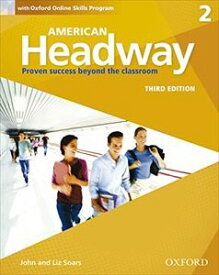 American Headway 3rd Edition Level 2 Student Book with Online Skills