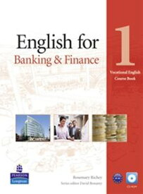 Vocational English for Banking & Finance Level 1 Coursebook with CD-ROM