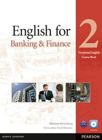 Vocational English for Banking & Finance Level 2 Coursebook with CD-ROM