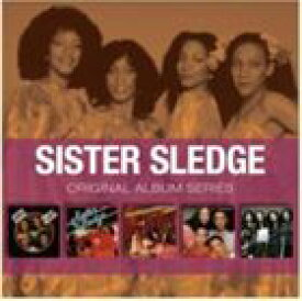 輸入盤 SISTER SLEDGE / ORIGINAL ALBUM SERIES [5CD]