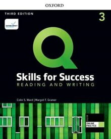 Q: Skills for Success 3/E: Reading and Writing Level 3 Student Book with iQ Online Practice