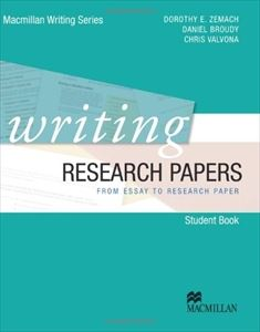 Writing Research Papers: Student Book