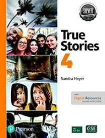 True Stories Silver Edition Level 4 Student Book with Digital Resources 2nd Edition
