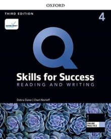 Q: Skills for Success 3/E: Reading and Writing Level 4 Student Book with iQ Online Practice