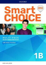 Smart Choice 4/E Level 1 Muti Pack B Student Book/Workbook split with Online Practice