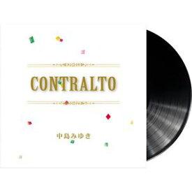[送料無料] 中島みゆき / CONTRALTO<完全生産限定アナログレコード (LP)> [レコード]