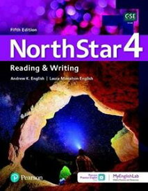 NorthStar 5th Edition Reading & Writing 4 Student Book with app & MyEnglishLab and resources