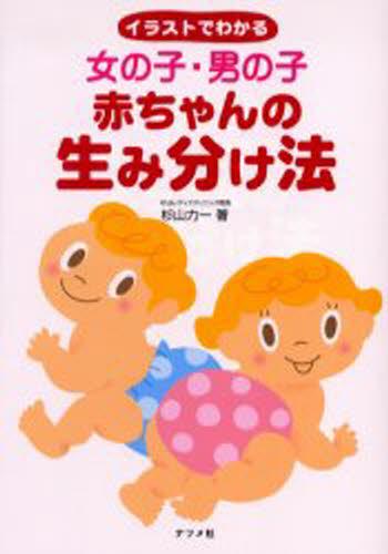 女の子・男の子赤ちゃんの生み分け法 イラストでわかる