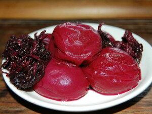 南高梅 紫蘇漬け 500g 紀州 和歌山県産 無農薬 無添加 有機栽培 塩分約23% 昔ながらの酸っぱい梅干し