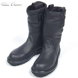 リックオウエンス RICK OWENS メンズ ブーツ 靴 ブラック RU13F080008 LSH 13A (R182500)【送料無料】【smtb-TK】