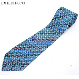 エミリオプッチ Emilio Pucci メンズ シルク ネクタイ スーツ PUCCI-TI-9 14S (R19440)【送料無料】【smtb-TK】