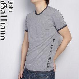 ジョンガリアーノ JOHN GALLIANO クルーネックTシャツ 半袖 T4A-H021-2000 グレー (R14900) 【送料無料】【smtb-TK】