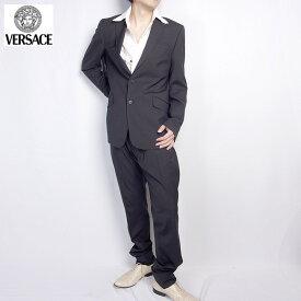 ヴェルサーチ ジーンズクチュール Versace スーツ セットアップ 1329644 160 VEJ ブラック 黒 (R243724)【送料無料】【smtb-TK】