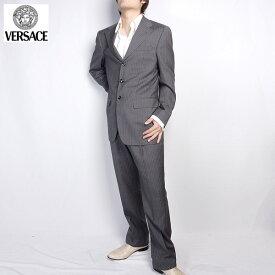 ヴェルサーチ Versace スーツ セットアップ 28ZDVG A50482 グレー (R209821)【送料無料】【smtb-TK】