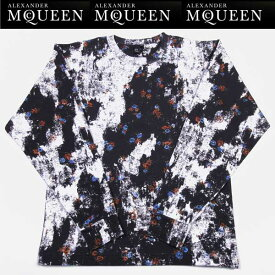 アレキサンダーマックイーン Alexander McQUEEN メンズ ロング Tシャツ 346740 RER20 1098 15S (R56500) 【送料無料】【smtb-TK】