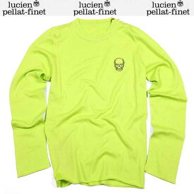 ルシアン ペラフィネ lucien pellat-finet メンズ スカル ロング 長袖 Tシャツ AT2005H POMMELO 15S (R151200)【送料無料】【smtb-TK】