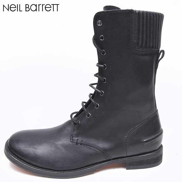 【送料無料】 ニールバレット (NeilBarrett) メンズ レースアップ ブーツ 靴 BSH157 9301 01 【楽ギフ_包装】【smtb-TK】 GB11A