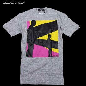 ディースクエアード DSQUARED2 メンズ 半袖 Tシャツ S71GD0362 S22742 858M 61S (R23370)【送料無料】【smtb-TK】