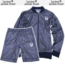 ルシアン ペラフィネ lucien pellat-finet メンズ クルーネック 半袖 Tシャツ AR117H+AR121H NAVY SKULL 61S【送料無料】【smtb-TK】