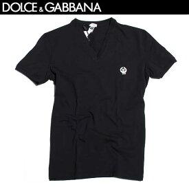 ドルチェ&ガッバーナ DOLCE&GABBANA メンズ 半袖 Vネック Tシャツ N8A05J 20 N0000 61A (R8640)