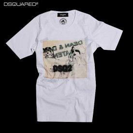 ディースクエアード DSQUARED2 レディース Tシャツ 半袖 S75GC0809 S22844 100 61A (R31320)【送料無料】【smtb-TK】