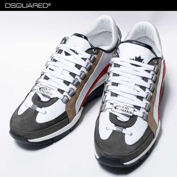* 【送料無料】 ディースクエアード(DSQUARED2) メンズ スニーカー 靴 S17SN404 578 M615 【楽ギフ_包装】【smtb-TK】 71S