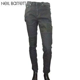 ニールバレット Neil Barrett メンズ スキニー ジーンズ デニム ブラック PBDE162C E804T 01 71S (R80900)【送料無料】【smtb-TK】