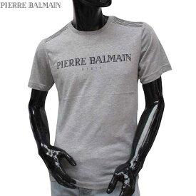ピエールバルマン Pierre Balmain メンズ クルーネック 半袖 Tシャツ HP66205T A6284 840 71S【送料無料】【smtb-TK】