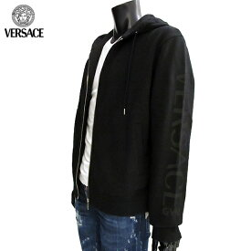 ヴェルサーチ Versace メンズ ジップアップ パーカー AUU13008 AC00231 A008 71A (R69000)【送料無料】【smtb-TK】