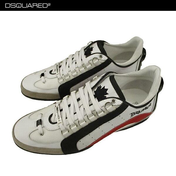 * 【送料無料】 ディースクエアード (DSQUARED2) メンズ スニーカー 靴 W17SN434 1306 M1224 【楽ギフ_包装】【smtb-tk】 71A