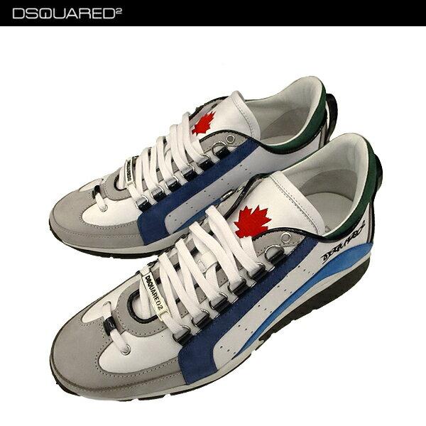 * 【送料無料】 ディースクエアード (DSQUARED2) メンズ スニーカー 靴 W17SN404 1110 M313 【楽ギフ_包装】【smtb-tk】 71A