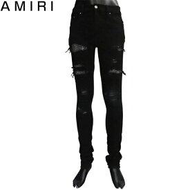 アミリ AMIRI メンズ クラッシュ デニム ジーンズ MBDES CRYBLK BLACK 81S (R290001) 【送料無料】【smtb-TK】