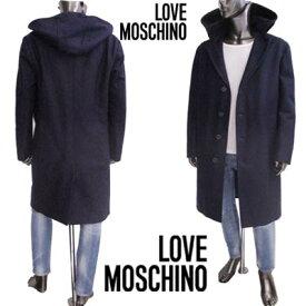 ラブ モスキーノ Love Moschino メンズ ウール フード付きコート コート TWO254100 75 71a (R39800)【送料無料】【smtb-TK】