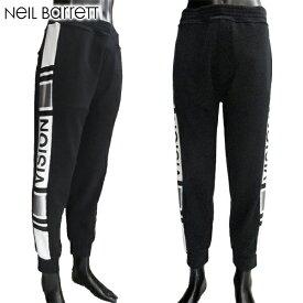 ニールバレット Neil Barrett メンズ パンツ スウェット サイドデザイン BJP85H G529C 1992 81S【送料無料】【smtb-TK】