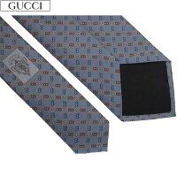 8cc8e3ffb131 PR グッチ GUCCI メンズ ネクタイ ロゴ プレゼント シルク ブ.