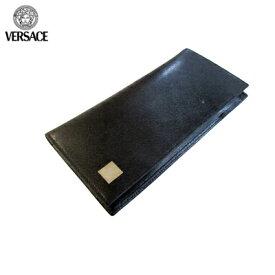 519b0df78f77 ヴェルサーチ Versace グッズ 財布 長財布 ウォレット レザー セット ブラック P31017 VGRD 41N UNICA 【送料