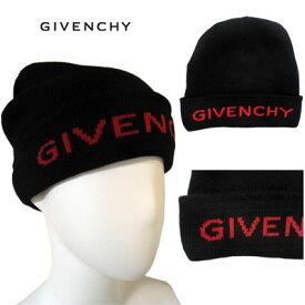 ジバンシー(GIVENCHY) メンズ ニット帽 ビーニー キャップ ロゴ ユニセックス着用可 カシミヤ混ロゴ刺繍入りニットキャップ ブラック 黒 GVCAPP U1446 009 91A (R32400)【送料無料】 【smtb-TK】