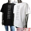 モンクレールグルノーブル MONCLER GRENOBLE メンズ トップス Tシャツ 半袖 ロゴ ネック部分トリコロールライン・フロ…