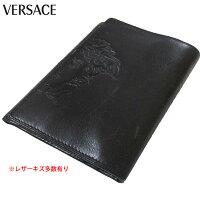 76ebb8993d8d PR ヴェルサーチ Versace メンズ 財布 ウォレット レザー 三つ折.