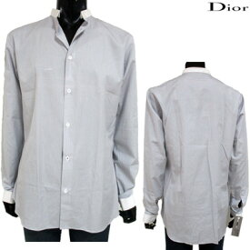 ディオールオム(DIOR HOMME) ワイシャツ メンズ トップス 長袖 カッターシャツ ビジネス グレー 灰色 163C537Z 1972 (R85800)【smtb-tk】【送料無料】 12S