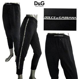 ドルチェ&ガッバーナ DOLCE&GABBANA メンズ レギンスパンツ アンダーウェア M11441 OMD33 N0000 ブラック 黒 (R19971)【送料無料】【smtb-TK】